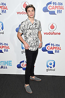 George Shelley<br /> at the Capital Radio Summertime Ball 2016, Wembley Arena, London.<br /> <br /> <br /> ©Ash Knotek  D3132  11/06/2016