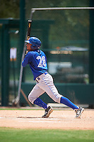 GCL Blue Jays left fielder Norberto Obeso (28) at bat during a game against the GCL Braves on August 5, 2016 at ESPN Wide World of Sports in Orlando, Florida.  GCL Braves defeated the GCL Blue Jays 9-0.  (Mike Janes/Four Seam Images)