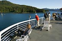 Alaska Marine Ferry Taku, Solarium deck, Southeast, Alaska