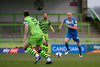Jason Taylor of Barrow during the Sky Bet League 2 match between Forest Green Rovers and Barrow at The New Lawn, Nailsworth on Tuesday 27th April 2021. (Credit: Prime Media Images I MI News)
