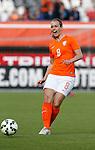 Nederland, Rotterdam, 20 mei 2015<br /> Oefeninterland voor WK Canada 2015<br /> Seizoen 2014-2015<br /> Nederland-Estland<br /> Maran van Erp van Nederland in actie met bal