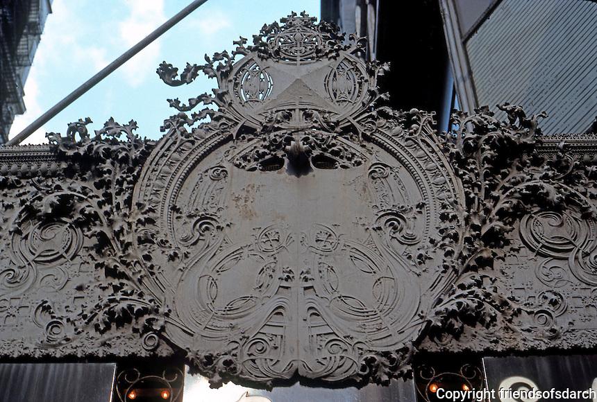 Louis Sullivan: Arch, Chicago Stock Exchange.  Photo '76.