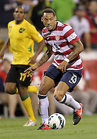 COLUMBUS, OHIO - SEPTEMBER 11, 2012:  Jermaine Jones (13) of the USA MNT against Jamaica during a CONCACAF 2014 World Cup qualifying  match at Crew Stadium, in Columbus, Ohio on September 11. USA won 1-0.
