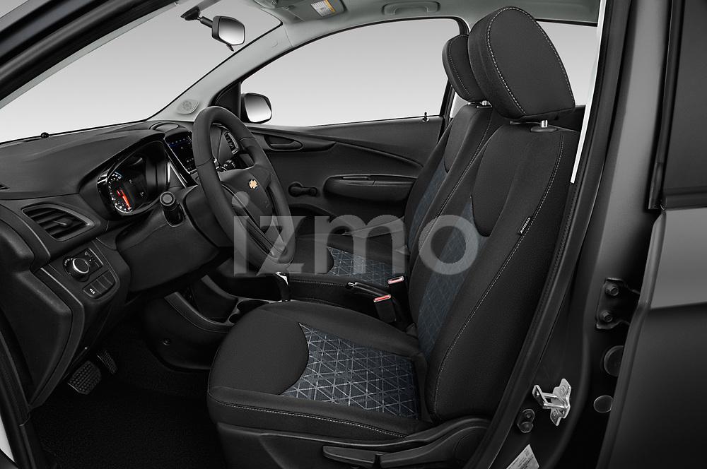 Front seat view of a 2020 Chevrolet Spark LS Select Doors Door Hatchback front seat car photos