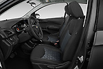 Front seat view of a 2020 Chevrolet Spark LS Select Doors Door Hatchback front seat car photos