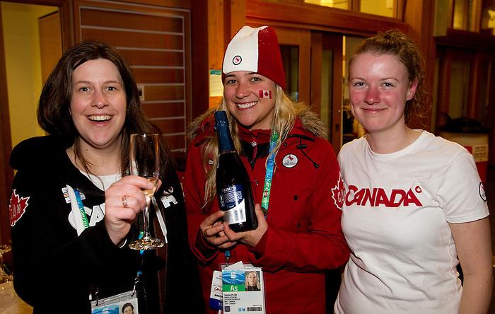 Vancouver 2010.<br /> Highlights from the medallists celebration // Faits saillants de la célébration des médaillés. 14/03/2010.