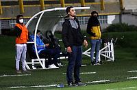 BOGOTÁ- COLOMBIA, 21-09-2021:Tigres  y Unión Magdalena durante partido de la fecha 9 por el Torneo BetPlay DIMAYOR 2021 jugado en el estadio Metropolitano de Techo de Bogotá./ Tigres and Union Magdalena a match of the 10nd for the BetPlay DIMAYOR 2021 Tournament at Metropolitano de Techo  stadium in Bogota Photo: VizzorImage. / Felipe Caicedo  / Staff
