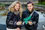 Jacqueline and Barbaraella Higgins from Tralee, enjoying a coffee break in the Tralee town park on Sunday.