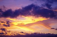 Sunset off Waikiki