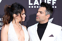LOS ANGELES - JUN 2:  Edy Ganem, Omar Chaparro at the 7th and Union Premiere -  Los Angeles Latino International Film Festival at the TCL Chinese Theater IMAX on June 2, 2021 in Los Angeles, CA