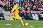 Atletico de Madrid's Andriy Lunin during La Liga match between Atletico de Madrid and CD Leganes at Wanda Metropolitano stadium in Madrid, Spain. March 09, 2019. (ALTERPHOTOS/A. Perez Meca)