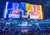 ARLINGTON, TX - DECEMBER 5: View pdf the ring at the Errol Spence Jr. v Danny Garcia fight on Fox Sports PBC Pay-Per-View fight night at AT&T Stadium in Arlington, Texas on December 5, 2020. (Photo by Frank Micelotta/Fox Sports)