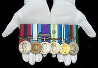 Falklands War hero has sold his bravery medals for over £160,000 to help fund his retirement.