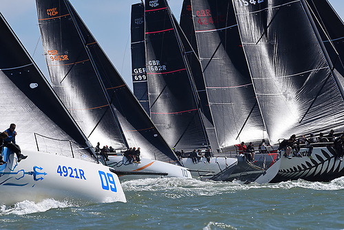 Eight classes will compete in the 2021 Vice Admiral's Cup organised by the Royal Ocean Racing Club: FAST40+, Performance 40, J/111, J/109, Cape31, HP30, Quarter Tonner and SB20