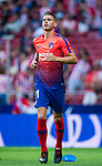 Lucas Hernandez of Atletico de Madrid warms up prior to the La Liga 2018-19 match between Atletico de Madrid and Rayo Vallecano at Wanda Metropolitano on August 25 2018 in Madrid, Spain. Photo by Diego Souto / Power Sport Images