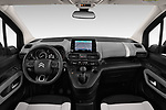 Stock photo of straight dashboard view of a 2019 Citroen Berlingo Shine 5 Door MPV