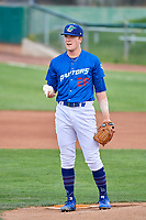 Ogden Raptors starting pitcher Kevin Malisheski (28) during the game against the Grand Junction Rockies at Lindquist Field on July 23, 2019 in Ogden, Utah. The Raptors defeated the Rockies 11-4. (Stephen Smith/Four Seam Images)