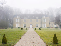 Fashion designer Gerard Tremolet's chateau in Normandy was constructed in the 11th century in Caen stone, and renovated in 1721