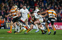 Saturday 22nd February 2020 | Ulster vs Cheetahs<br /> <br /> James Hume during the PRO14 Round 12 clash between Ulster and the Cheetahs at Kingspan Stadium, Ravenhill Park, Belfast, Northern Ireland. Photo by John Dickson / DICKSONDIGITAL
