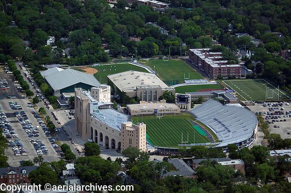 aerial photograph Ryan Field, Evanston, Illinois