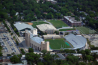 aerial photograph Ryan Field, Evanston, Illinois