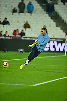 Adrian of West Ham United during West Ham United vs Fulham, Premier League Football at The London Stadium on 22nd February 2019