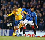26.12.2019 Rangers v Kilmarnock: Rory McKenzie and Connor Goldson