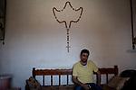Irak, Juni 2014,  Portrait von Salaam Rahemi, <br /> <br /> Engl.: Asia, Iraq, North Iraq, conflict area, Karakosh, portrait of Salaam Rahemi, the last Christians in Iraq are domiciled in Karakosh, June 2014<br /> <br />    Die irakische Stadt Karakosch beheimatet die letzten Christen im Irak.