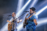 2Frères performs at the Festival d'ete de Quebec (Quebec Summer Festival) on July 14, 2018.