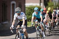 Multiple Flèche winner & current World Champion Alejandro Valverde (ESP/Movistar)<br /> <br /> 83rd La Flèche Wallonne 2019 (1.UWT)<br /> One day race from Ans to Mur de Huy (BEL/195km)<br /> <br /> ©kramon