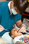 Education preschool 3-4 year olds outreach dental clinic at Headstart preschool vertical