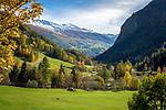 Oesterreich, Kaernten, Nationalpark Hohe Tauern, bei Heiligenblut: Herbststimmung im oberen Moelltal   Austria, Carinthia, High Tauern National Park, near Heiligenblut: autumn scenery at Upper Moell Valley