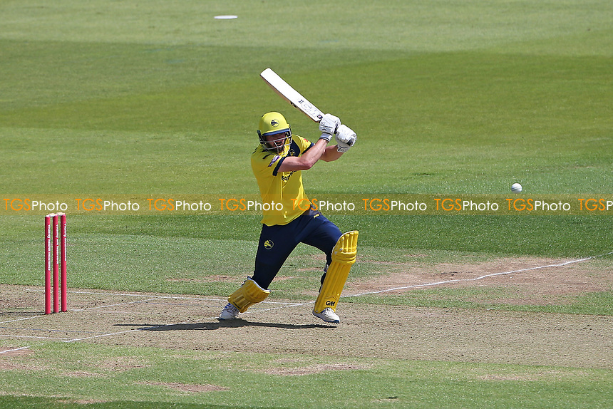 James Vince in batting action for Hampshire during Hampshire Hawks vs Essex Eagles, Vitality Blast T20 Cricket at The Ageas Bowl on 16th July 2021