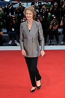 British actress Charlotte Rampling arrives for the Award Ceremony of the 74th Venice Film Festival on September 8, 2017 in Venice, Italy.<br /> UPDATE IMAGES PRESS/Marilla Sicilia<br /> <br /> *** ONLY FRANCE AND GERMANY SALES ***
