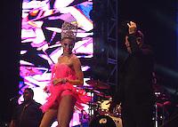 BARRANQUIILLA -COLOMBIA-17-FEBRERO-2015. Ruben Blades, un grande de la mœsica en el Festival de Orquestas 2015<br /> <br /> El paname–o y los artistas urbanos del momento fueron los m‡s esperados y ovacionados.<br /> Miles de barranquilleros disfrutaron en el Romelio Mart'nez de una constelaci—n de grandes estrellas que con su mœsica iluminan el cielo barranquillero, en el tercer d'a de Carnaval./  Ruben Blades, a large Music Festival Orchestra in 2015<br /> <br /> The Panamanian and urban artists of the time were the most anticipated and acclaimed.<br /> Thousands of barranquilleros enjoyed in the Romelio Martinez of a constellation of superstars whose music barranquillero light up the sky, on the third day of Carnival .Photo:VizzoImage / Alfonso Cervantes / Stringer