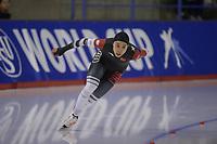 SPEEDSKATING: Calgary, The Olympic Oval, 08-02-2020, ISU World Cup Speed Skating, 500m Ladies Division B, Xin Zhao (CHN), ©foto Martin de Jong