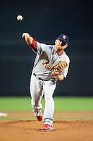 Apr. 11, 2011; Phoenix, AZ, USA; St. Louis Cardinals pitcher Kyle McClellan throws in the first inning against the Arizona Diamondbacks at Chase Field. Mandatory Credit: Mark J. Rebilas-