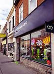 Opticianado vintage eyewear store at the Junction neighbourhood in Toronto, Canada