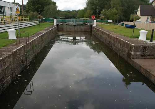 File image of Movanagher Lock on the Lower Bann