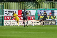 9th October 2021;  VBS Community Stadium, Sutton, London; EFL League 2 football, Sutton United versus Port Vale; David Worrall (7) of Port Vale taking a shot on goal
