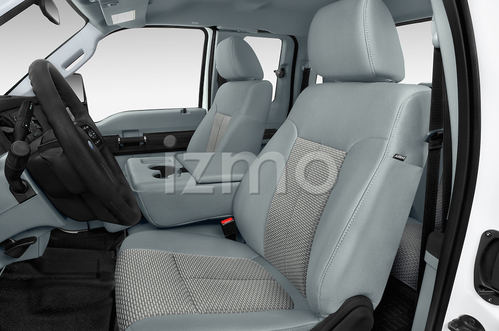 Front seat view of a 2015 Ford F-350 Super Duty XL 4x4 SuperCab 158-In DRW 2 Door pickup Front Seat car photos