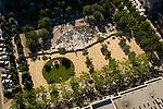 Aerial of Jamison Square, Pearl District, Portland, Oregon