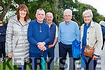 Betty and Denny Culloty (Tralee),  Michael O'Connell (Lixnaw), Mike and Mary Stack (Ballyheigue) at the Ballyheigue Pattern Day Mass on Sunday.