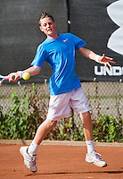 08-08-13, Netherlands, Rotterdam,  TV Victoria, Tennis, NJK 2013, National Junior Tennis Championships 2013, Deney Wassermann<br /> <br /> <br /> Photo: Henk Koster