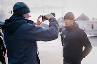 Belgian National CX coach Sven Vanthourenhout interviewed ahead of the 2nd day at the UCI 2019 Cyclocross World Championships in Bogense / Denmark<br /> <br /> ©kramon