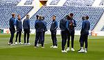 23.10.2019 Rangers press conference , Porto: James Tavernier