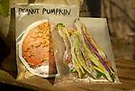 Vegetable seed storage, peanut pumpkin and dragon tongue