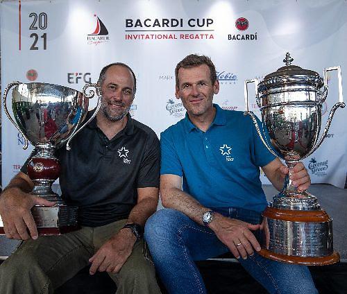 Bruno Prada (left) and Mateusz Kusznierewicz