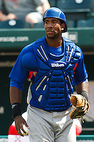 Yusuf Carter (31) April 20th, 2010; Midland Texas Rockhounds vs The Springfield Cardinals at Hammons Field in Springfield Missouri.  The Cardinals won in the 9th inning breaking a 1-1 tie.