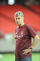 Former Atlanta Chiefs player Brian Kidd currently serves as an assistant coach with Manchester City. The 2010 Atlanta International Soccer Challenge was held, Wednesday, July 28, at the Georgia Dome, featuring a match between Club America and Manchester City. After regulation time ended 1-1, Manchester City was awarded the victory, winning 4-1, in penalty kicks.